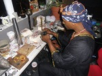 Alkamyst/metalsmith Sha doing what he does best!