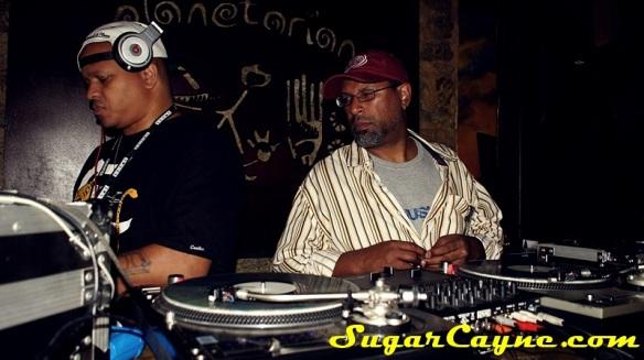 DJs Jaycee and Talib Shabazz
