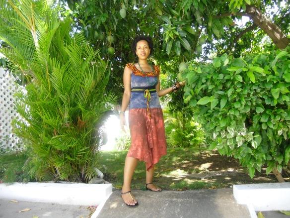 tank and flounce skirt: Harriet's by Hekima